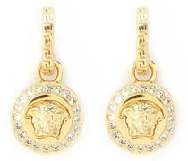 Greca and Medusa drop earrings