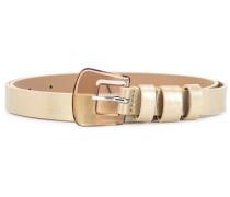 thin buckle belt