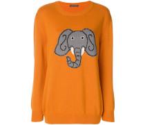 elephant intarsia jumper