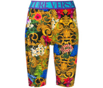 Shorts mit Dschungel-Print