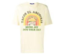 T-Shirt mit Tacos-Print