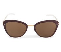 Sonnenbrille mit Cat-Eye-Gläsern