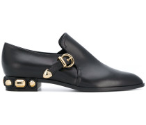 Loafer mit seitlicher Schnalle