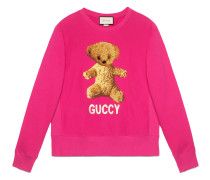 Sweatshirt mit Teddybärenmotiv