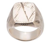 Silberring mit Prägung