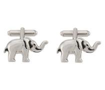 Manschettenknöpfe mit Elefant