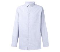 Long Pocket plain shirt