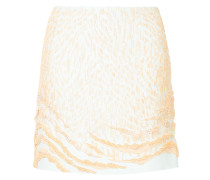 patterned design short skirt