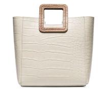 'Shirley' Handtasche mit Kroko-Effekt