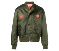 loose fit bomber jacket