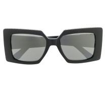 Eckige Oversized-Sonnenbrille