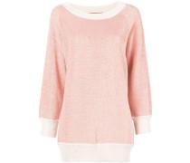 Pullover mit Kontrastborte