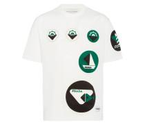 T-Shirt mit Boot-Print