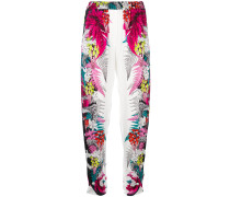 tapered floral trousers