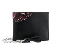 Portemonnaie mit Flügel-Print