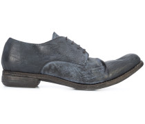 Derby-Schuhe mit Distressed-Optik