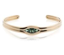18kt 'Trill' Goldarmspange mit Smaragd