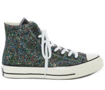 'Chuck Taylor' Sneakers mit Glitter
