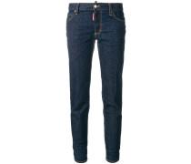 'Twiggy' Cropped-Jeans