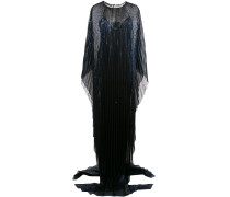 Robe im Metallic-Look