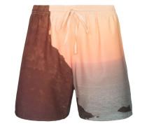 Bedruckte Shorts mit Kordelzug