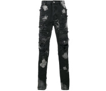 'Chitch' Jeans mit Distressed-Optik