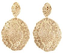 18kt vergoldete 'Vintage Lace' Ohrringe