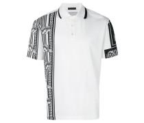cornici print polo shirt
