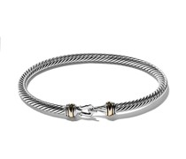 18kt 'Cable' Armband mit 14kt Gelbgold