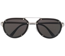 Santos aviator frame sunglasses