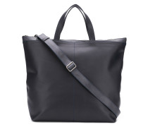 leather pilot tote