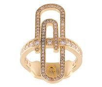 Vergoldeter 'Doreen' Ring
