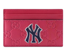 Card case with NY Yankees™ patch