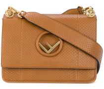'Kan I F' Pythonleder-Handtasche