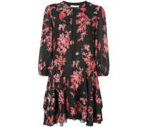 'Moore' Kleid mit Blumen-Print
