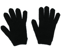 Handschuhe mit Intarsienmuster