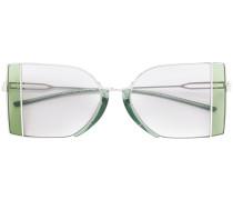 Sonnenbrille mit Metall-Gestell