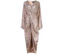 Wickelkleid mit Glitter