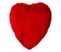 Fuchspelz-Cape in Herzform