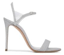 110mm Sandalen im Glitter-Look