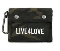 'Live 4 Love' Camouflage-Portemonnaie