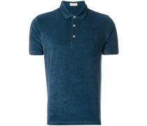 terry cloth polo shirt