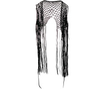 Coyopa knitted fringed vest