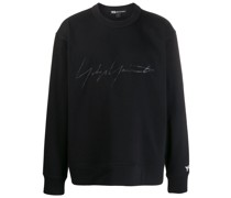 Sweatshirt mit Signatur-Print