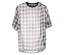 chiffon oversized shirt