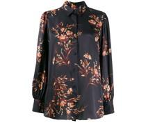 Bluse mit Blumen-Print