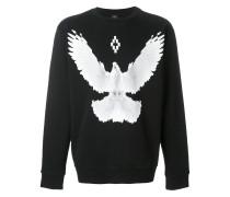 Sweatshirt mit Tauben-Print