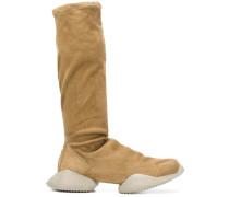 platform knee-length boots