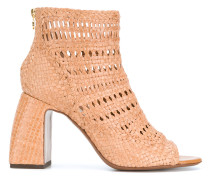 woven perforated boots