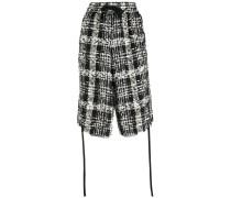 Klassische Tweed-Shorts